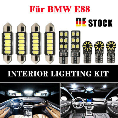 Xenon SMD LED Innenraumbeleuchtung BMW E88 1er