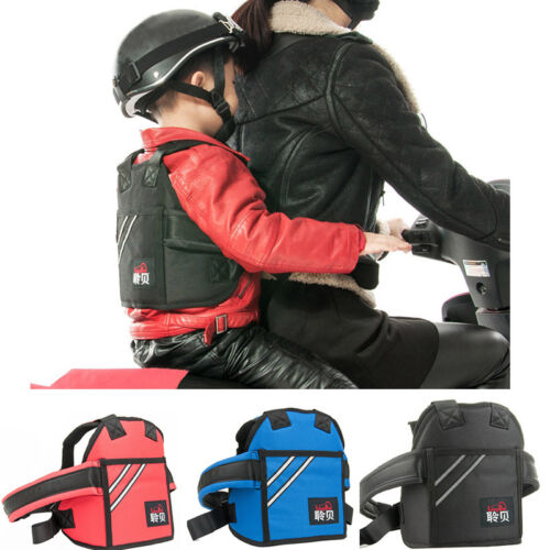 Safety Kid Safety Harnes Motorcycle Seat Strap Back Support Belt Protective Gear