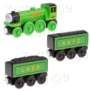 USA-FLYING-SCOTSMAN-WATER-TANKER-TENDER-Thomas-Wooden-train-engine-car-NEW
