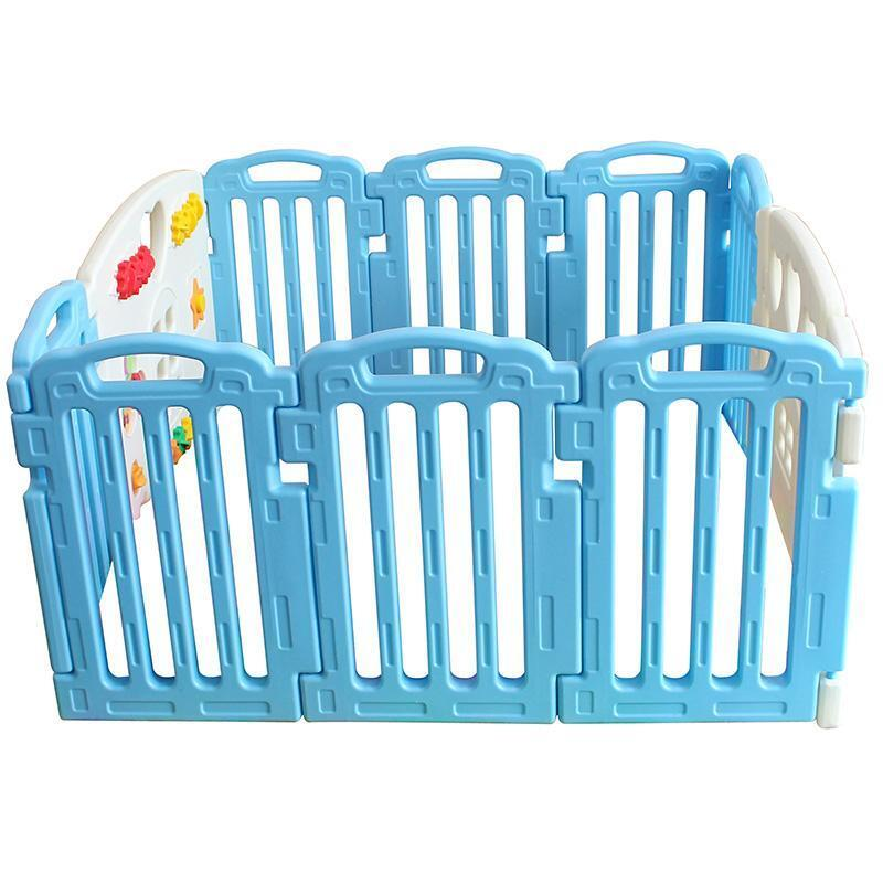 Baby Playpen Kids 10 Panel Safety Play Center Yard Home Indoor Outdoor Pen 82