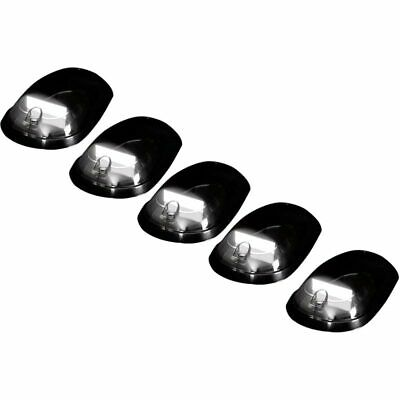 Recon Cab Lights Bar Style Smoked Lens White OLED For 2003-2019 Dodge 2500 3500