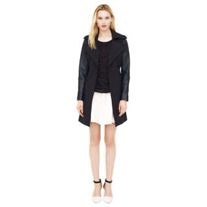**MACKAGE & CLUB MONACO LEATHER JACKETS - TWO FOR ONE**
