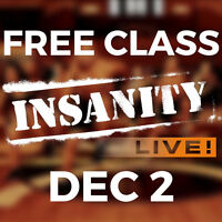 FREE 30 MINUTE FITNESS CLASS IN MISSISSAUGA!