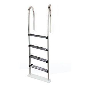 Blue Wave NE1145 Premium Stainless Steel In-Pool Ladder for Abov