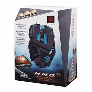 Mad Catz M.M.O.TE Gaming Mouse for PC or Mac