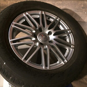 Vw Touareg 18 inch alloy rims and tires 5 x 130