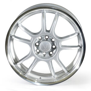 Roues mags neufs, , VOXX 17'' Argent