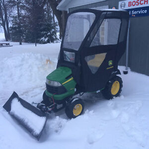 Snow Blade / John Deere Cab for Lawn tractor