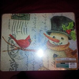 New - Tempered Glass Cutting Boards, two designs London Ontario image 1