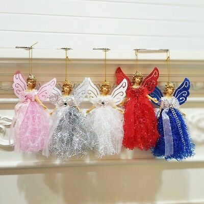 Angel Doll Christmas Tree Pendants Accessories Toy Ornaments Home Decor US ()