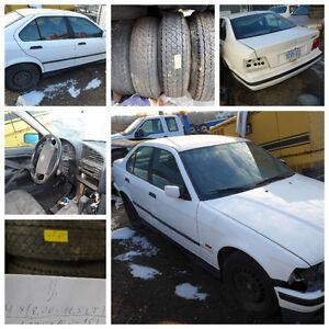 1999 BMW 318i SERIES SEDAN, FOR PARTS, WE DELIVER