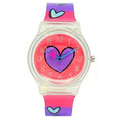 Children Watches Heart Watch Lovely Gift for Girls Fashion Quartz Wristwatches