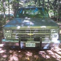 1987 chevy suburban 350 tbi rwd no etest needed! good project