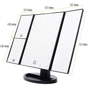 Brand New 21 LED lighted Makeup Mirror With Magnification Trifol