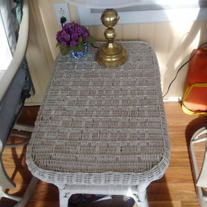 two Wicker pieces perfect for home, cottage, or anywhere