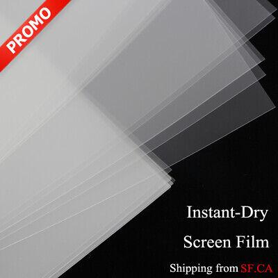 Waterproof Inkjet Quick Dry Milky Transparent Screen Film 8.5 X 1150 Sheets