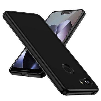 For Google Pixel 3 XL Black Crystal Soft Gel Shockproof TPU Cover Case Skin