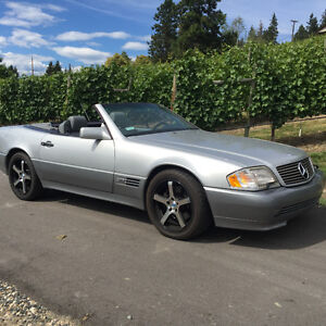 1995 SL 600 V-12 automatic, Mercedes Benz Roadster, Original BC