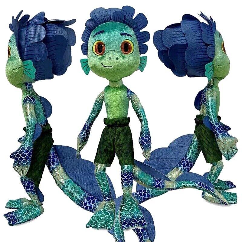 Luca Pixar Alberto Plush Toy Soft Stuffed Animal Doll Anime Figure Toy Kid Gift
