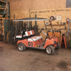 Dukes of Hazzard Golf Cart