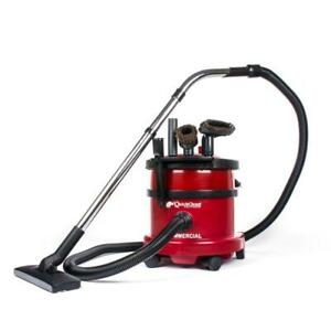 Clean Dry Commercial Air Canister Vacuum 4 Gallon 8' Hose 1 1/4""