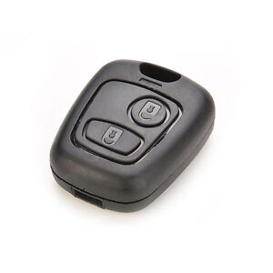 2 Button Bemote Key Fob Shell Cover Case For Peugeot 106 107 206 207 307 406