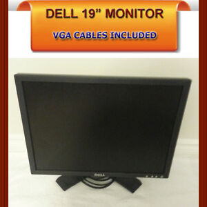 "DELL 19"" MONITOR WITH VGA CABLE INCLUDED"