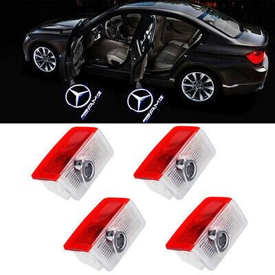 4 X Willkommen Laser Projektor TürLicht Logo LED Lampe für Mercedes Benz GLC GLE