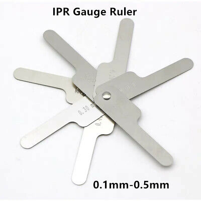 Dental Orthodontic Interproximal Reduction Gauge Reciprocating Ipr System0.1-0.5
