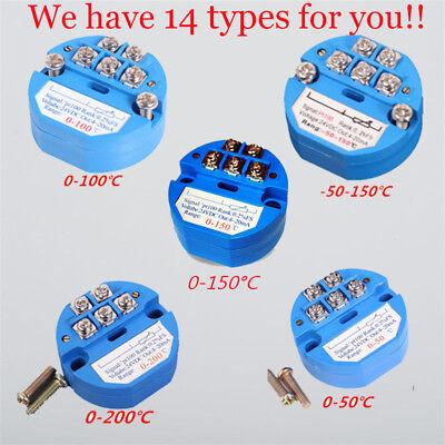 4-20ma Rtd Pt100 Sbw Temperature Sensor Transmitter Isolated Sensors Full C Lot