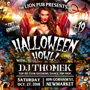 HALLOWEEN PARTY @ THE LION PUB! Oct. 27th!
