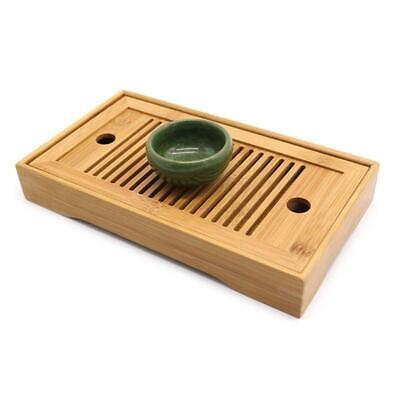Bamboo Tea Trays Kung Fu Tea Table With Drain Rack Chinese Tea Serving Tray Set