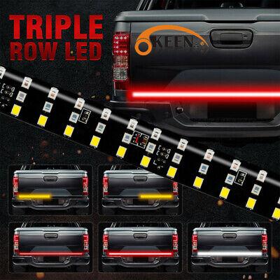 "60"" 3 Row 432 LED Strip Tailgate Light Bar Truck Reverse Brake Signal Tail Lamp"