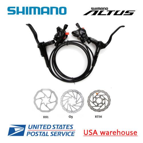 SHIMANO Altus BR-BL-MT200 Hydraulic Disc Brake Set MTB F&R H