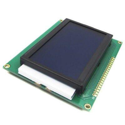 Hot Useful 5v Lcd 12864 Display Module 128x64 Dots Graphic Matrix Blue Backlight