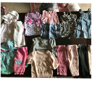 Baby girl cloths lot 3-6 months