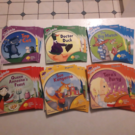 Set of 36 phonics books stages 1-6