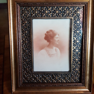 Original Photo Victorian Lady March 1911