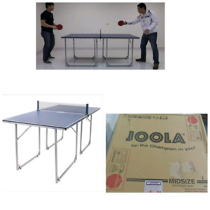 Midsize tennis table, ping pong table, delivery, new