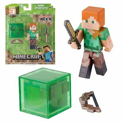 Minecraft 3-Inch Core Character Action Figure Wave 2-Alex-Brand New-BNIB