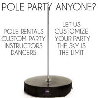 Pole Party and Pole Rental