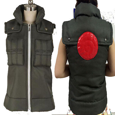 Popular Deluxe Naruto Costume Hatake Kakashi Men's Naruto Cosplay Costume Vest  (Popular Costumes For Men)