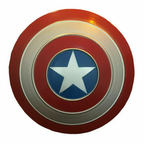 Avengers Captain America Shield Iron Replica Vintage Bar Decoration Cosplay Prop