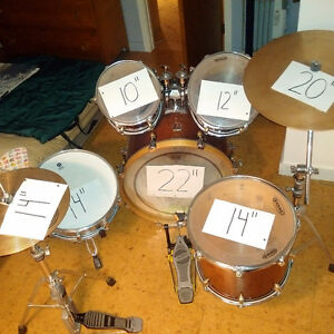 Drum set Premier made in England