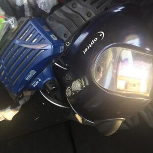 Welding Helmet air powered
