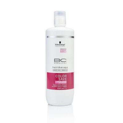 Schwarzkopf Bc Color Save (Schwarzkopf BC Bonacure Color Save Color Shine Shampoo 33.8 oz /1 Liter)