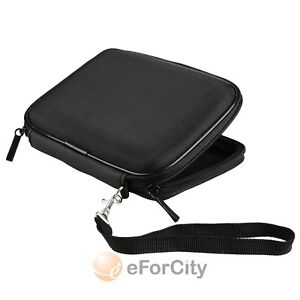 Black Pouch Case Cover For Garmin Nuvi 1390T 1450 1490T