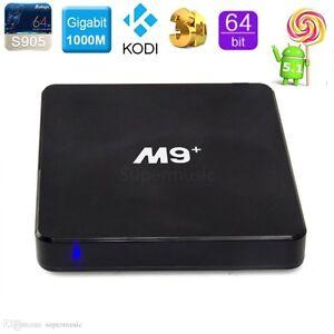 M9 Plus Free Tv Xbmc/Kodi Latest Jarvis 16.1 Android media box