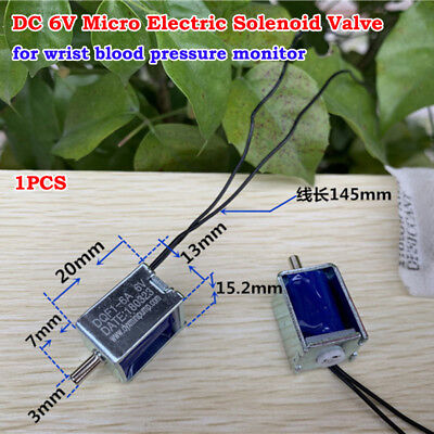 Dc 6v Micro Mini Dc Electric Solenoid Valve Air Gas Valve Blood Pressure Monitor