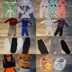 Boys clothing lot 12months and 12-18months